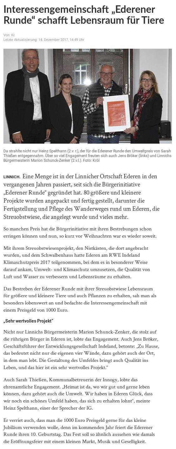 Presseecho - www.ederen.de