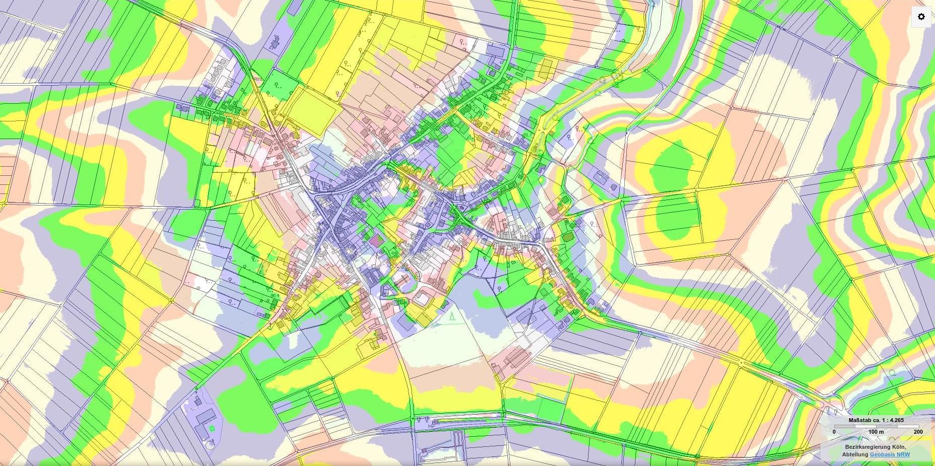 Topographische Karte Nrw.Neuere Www Ederen De